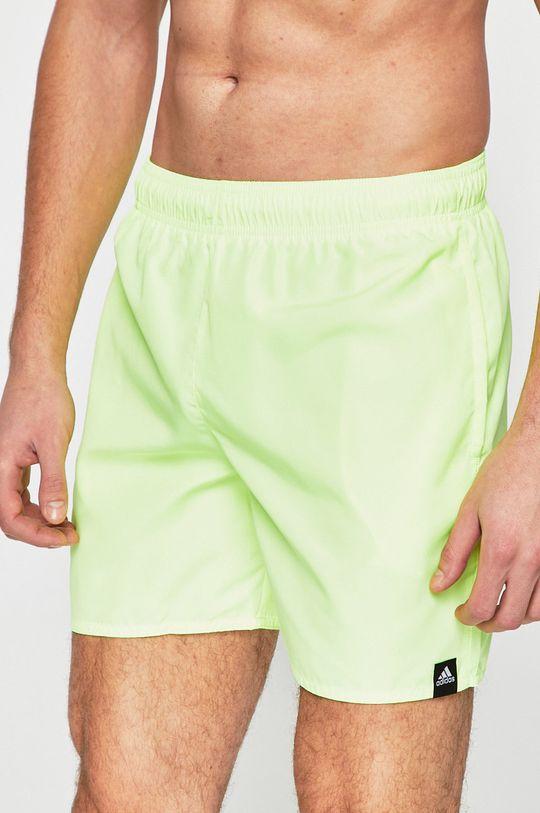 žlutě zelená adidas Performance - Plavky Pánský