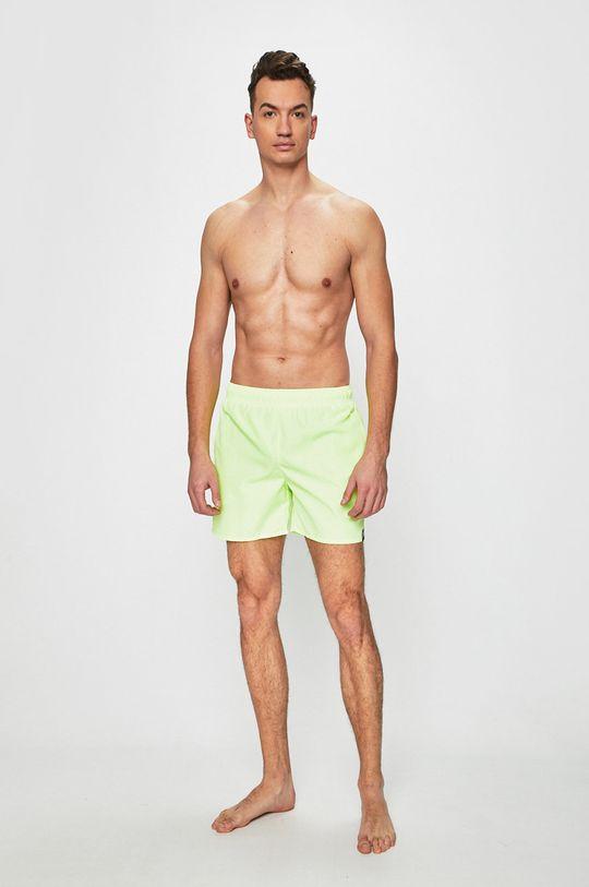 adidas Performance - Plavky žlutě zelená