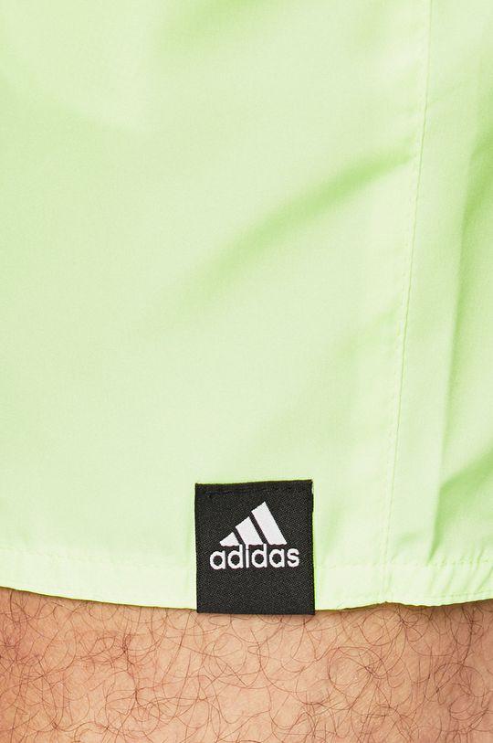 žlutě zelená adidas Performance - Plavky