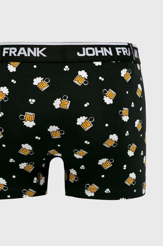 John Frank - Bokserki czarny