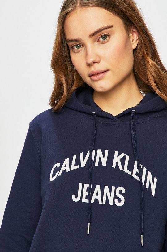 námořnická modř Calvin Klein Jeans - Mikina