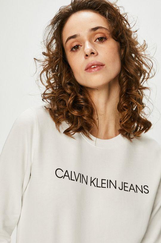 bílá Calvin Klein Jeans - Mikina