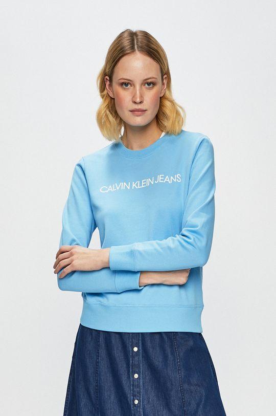 světle modrá Calvin Klein Jeans - Mikina Dámský
