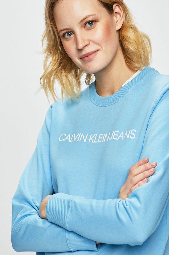 světle modrá Calvin Klein Jeans - Mikina