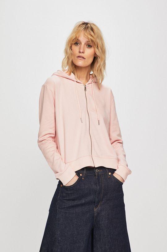 pastelově růžová Calvin Klein Jeans - Mikina Dámský