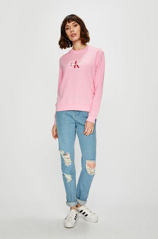 Calvin Klein Jeans - Mikina růžová