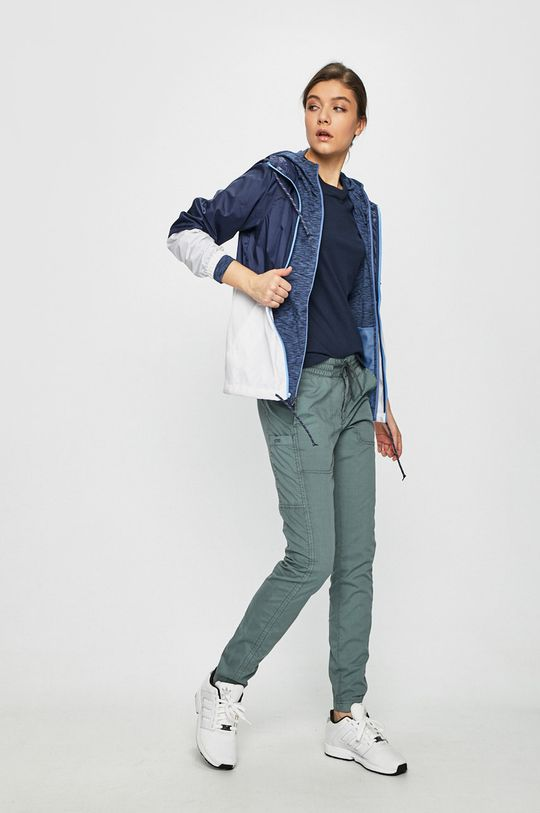 Columbia - Bluza albastru metalizat