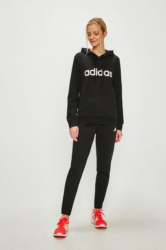 adidas Performance - Felső fekete