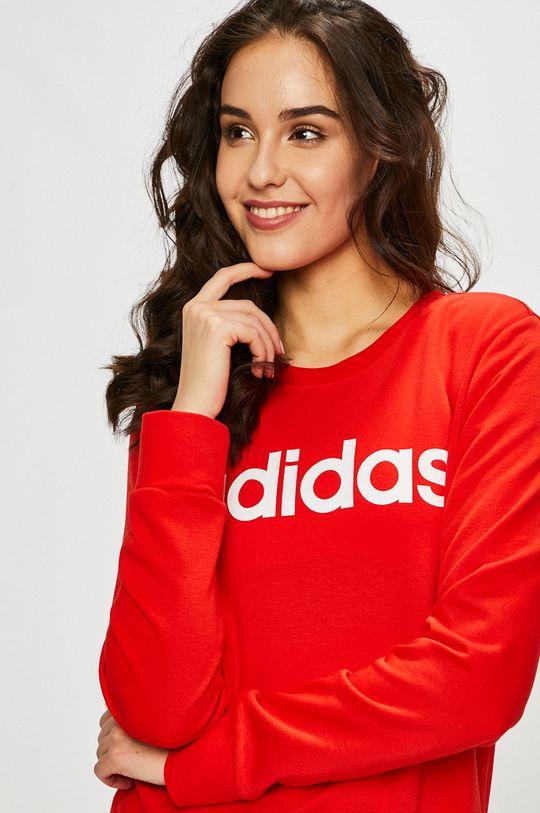 piros adidas Performance - Felső