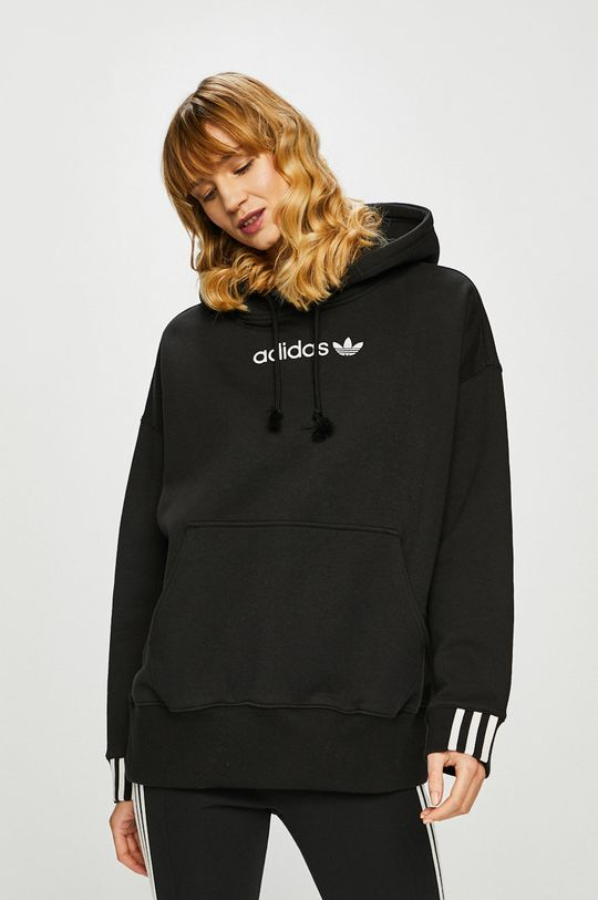 čierna adidas Originals - Mikina Dámsky
