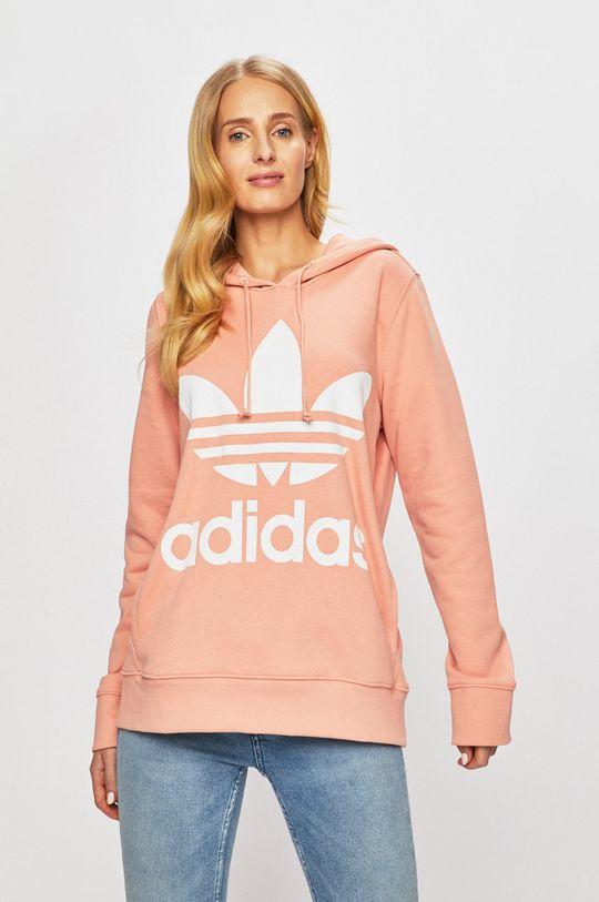 ružová adidas Originals - Mikina Dámsky