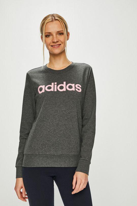 szürke adidas Performance - Felső Női