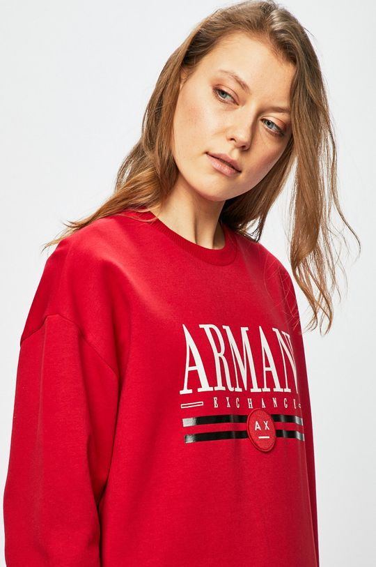 červená Armani Exchange - Mikina