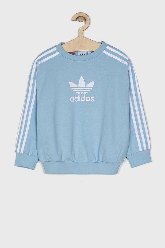 modrá adidas Originals - Detská mikina 128-170 cm Dievčenský
