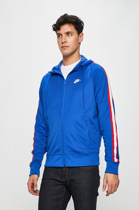 modrá Nike Sportswear - Mikina Pánský