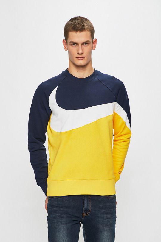 námořnická modř Nike Sportswear - Mikina Pánský