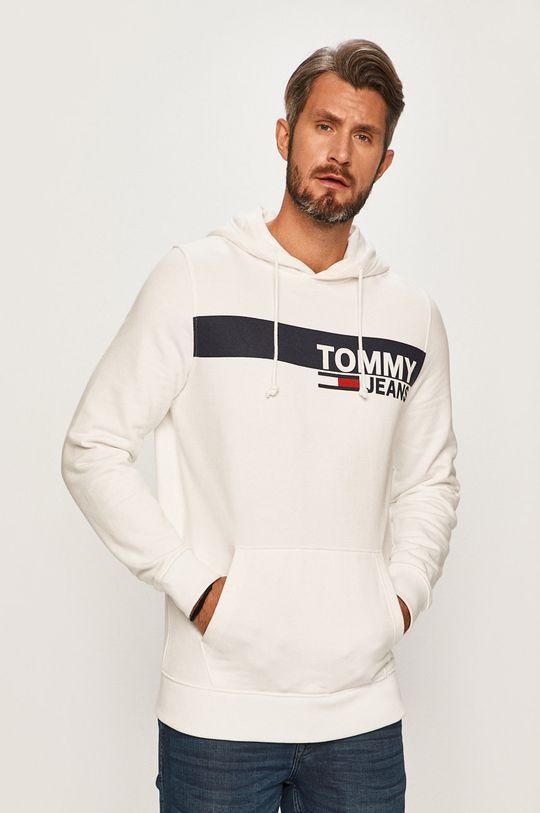 biela Tommy Jeans - Mikina Pánsky