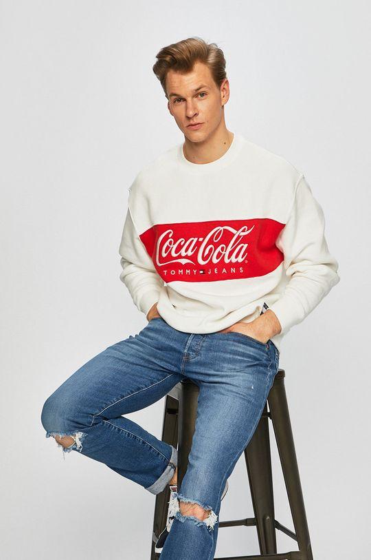 fehér Tommy Jeans - Felső x Coca-Cola Férfi