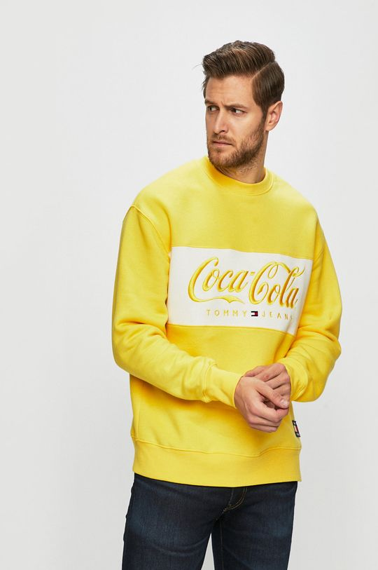 sárga Tommy Jeans - Felső x Coca-Cola Férfi