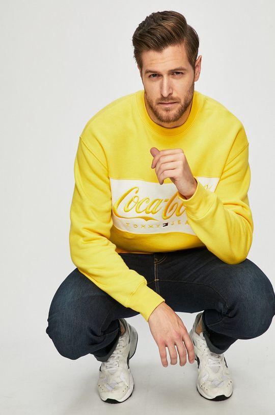 sárga Tommy Jeans - Felső x Coca-Cola