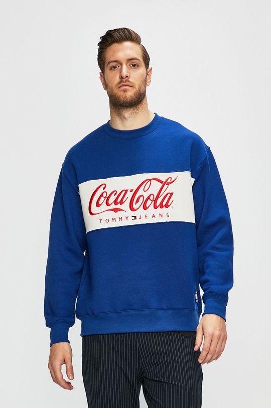kék Tommy Jeans - Felső x Coca-Cola Férfi