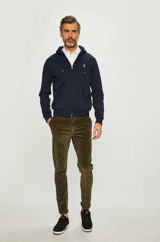 Polo Ralph Lauren - Mikina <p>1. látka: 42% Bavlna, 58% Polyester 2. látka: 57% Bavlna, 2% Elastan, 41% Polyester</p>