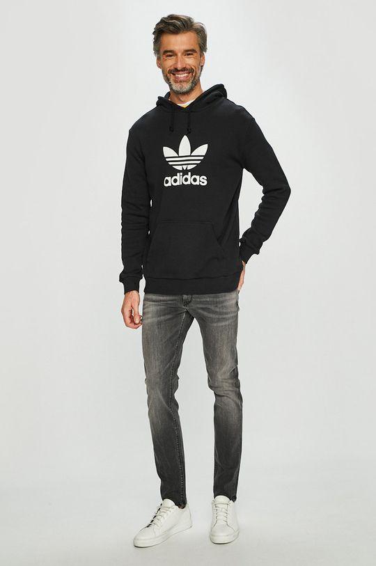 adidas Originals - Felső fekete