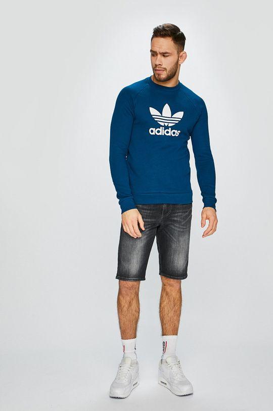 adidas Originals - Felső sötét türkiz