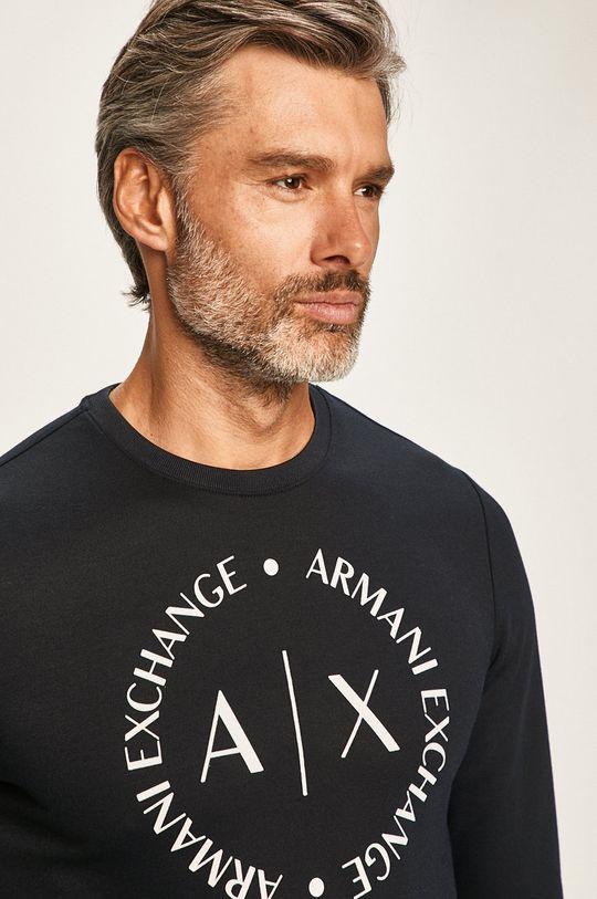 námořnická modř Armani Exchange - Mikina
