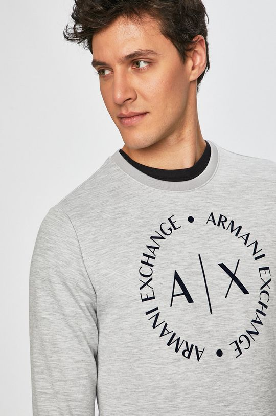 gri Armani Exchange - Bluza