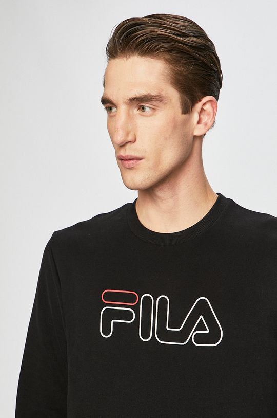 czarny Fila - Bluza