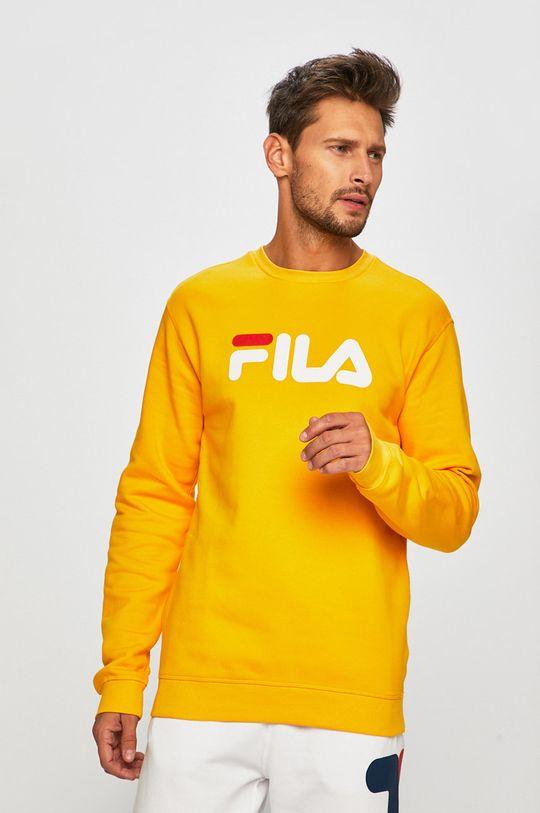 żółty Fila - Bluza Męski
