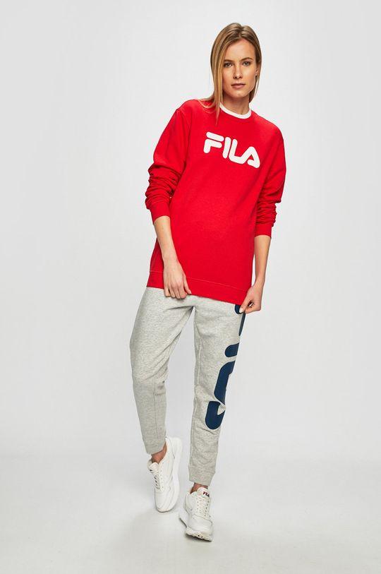 czerwony Fila - Bluza