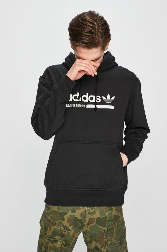 černá adidas Originals - Mikina Pánský
