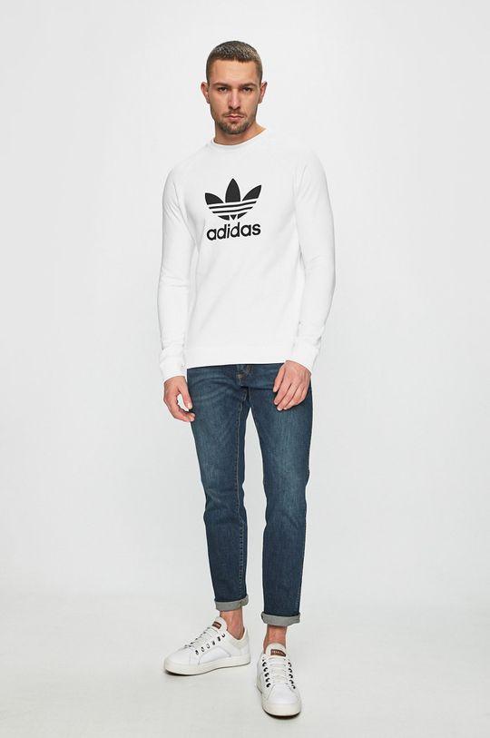 adidas Originals - Bluza biały