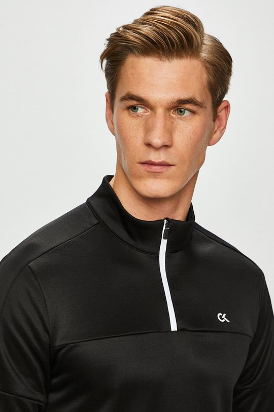černá Calvin Klein Performance - Mikina Pánský