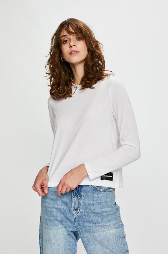 alb Calvin Klein Jeans - Bluza De femei
