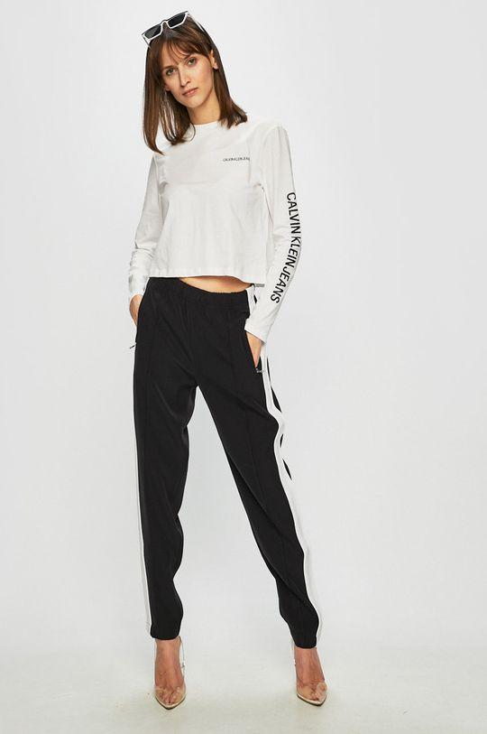 Calvin Klein Jeans - Halenka bílá