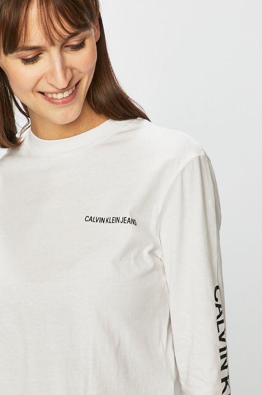 bílá Calvin Klein Jeans - Halenka