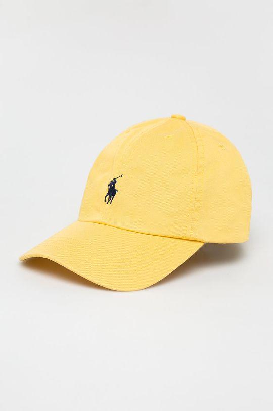 svetložltá Polo Ralph Lauren - Detská čiapka Chlapčenský