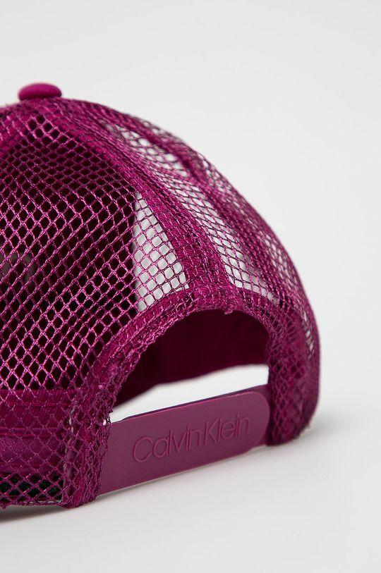 Calvin Klein - Čepice purpurová