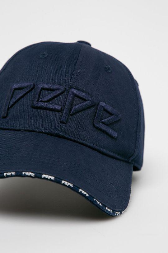 Pepe Jeans - Čepice námořnická modř