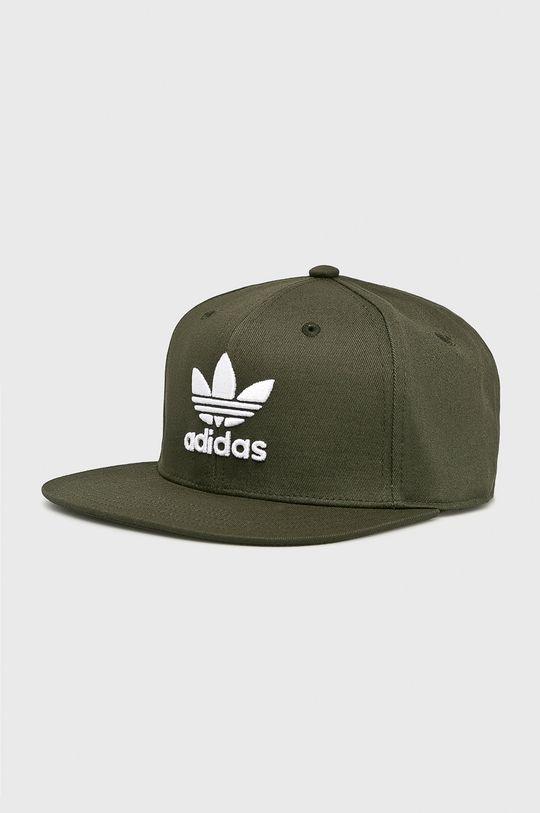 zelená adidas Originals - Čiapka Dámsky