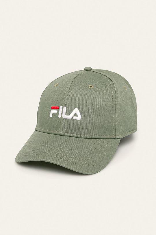brudny zielony Fila - Czapka Damski