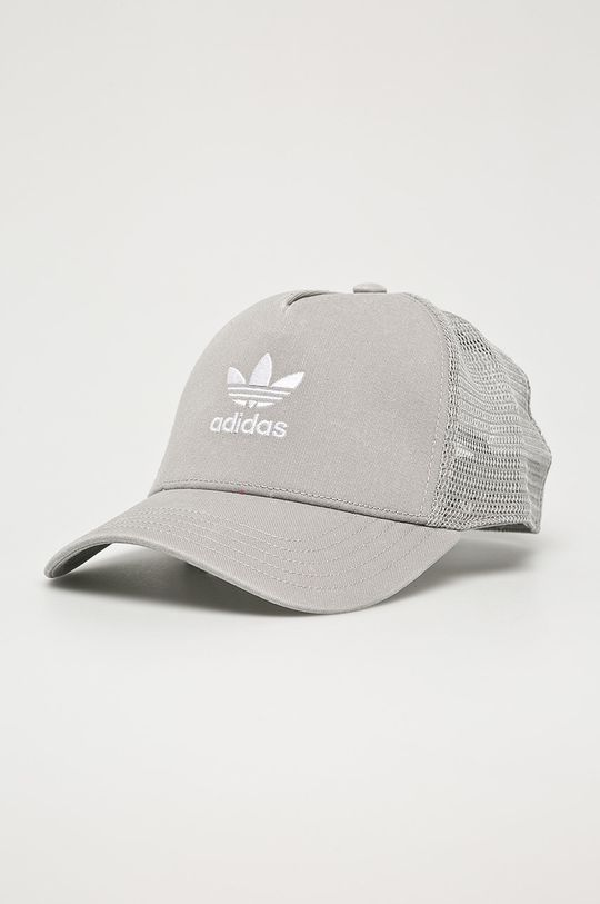 sivá adidas Originals - Čiapka Dámsky