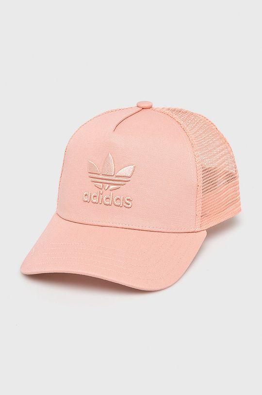 pastelová ružová adidas Originals - Čiapka Dámsky