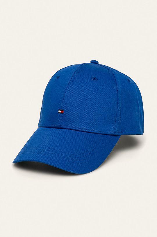 niebieski Tommy Hilfiger - Czapka Męski