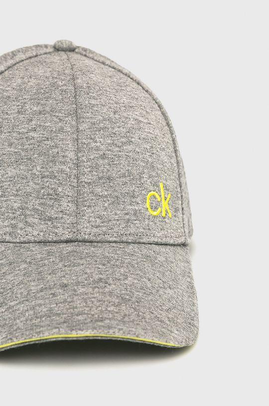 Calvin Klein - Čepice světle šedá