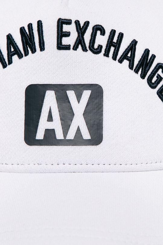 Armani Exchange - Čiapka  Podšívka: 100% Bavlna Základná látka: 88% Bavlna, 12% Polyester Iné látky: 100% Bavlna 1. látka: 88% Bavlna, 12% Polyester 2. látka: 100% Polyester Prvky: 100% Polyester