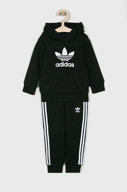 čierna adidas Originals - Detská tepláková súprava 62-104 cm Chlapčenský